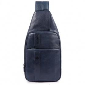 Piquadro P15Plus blaue Schulter - CA4827P15S / BLU2