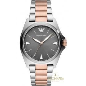 Emporio Armani Nicola watch only two-tone time AR11256