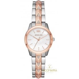 Michael Kors watch Runway bicolor woman - MK6717