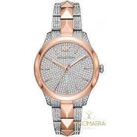Michael Kors Uhr Frau Runway Kristalle - MK6716