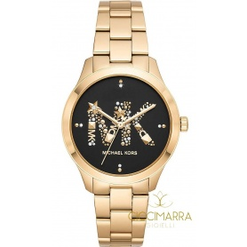Michael Kors gold Runway woman watch - MK6682