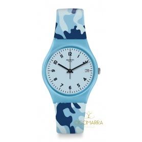 Gent Camoublue Swatch Uhr - GS402