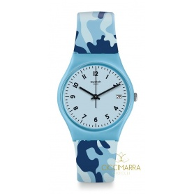 Gent Camoublue Swatch Watch - GS402