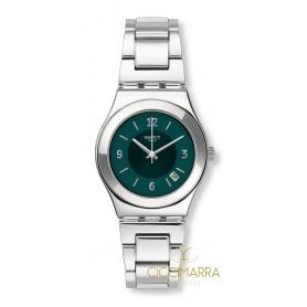 Swatch Irony Damenuhr Middlesteel - YLS468G