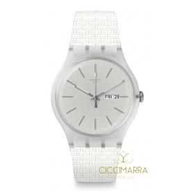 Orologio Swatch New Gent Bricablanc - SUOW710