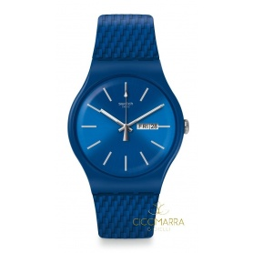 Swatch watch New Gent Bricablue - SUON711