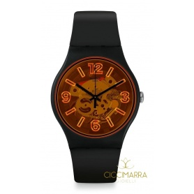 Swatch watch New Gent Orangeboost - SUOB164