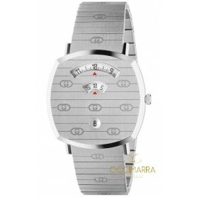 Herrenuhr Gucci Grip Silber - YA157410