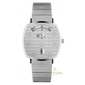 Gucci Grip women's silver watch - YA157401
