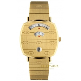 Gucci Grip goldene Damenuhr - YA157403