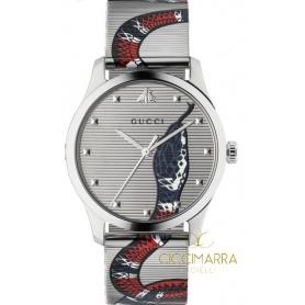 Gucci G-Timeless Snake Uhr 38mm - YA1264123