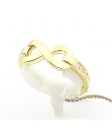 Salvini Infinito Ring in Gelbgold mit Brillant 20085533