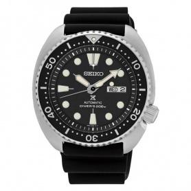 Seiko Prospex Uhr Automatik schwarz Silikon SRP777K1