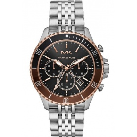 Michael Kors Men's Watch Bayville Rosé Chronograph - MK8725