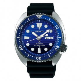 Seiko blue Prospex watch with automatic SRPC91K1 rubber