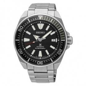 Seiko Prospex Samurai automatische schwarze Uhr SRPB51K1