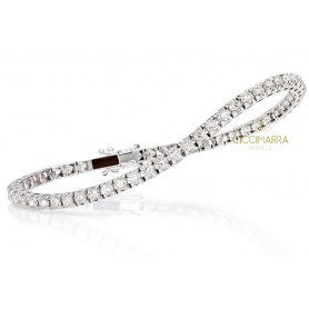 Bracciale Tennis Crieri Icon in oro e diamanti ct1.40