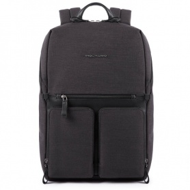 Piquadro men's backpack Tiros black - CA4541W98 / N