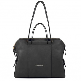Piquadro women's bag Circle black - BD4574W92 / N