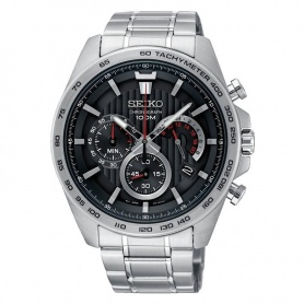 Orologio Seiko uomo cronografo nero - SSB299P1