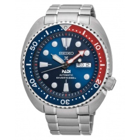 Seiko Prospex Padi watch red blue automatic SRPA21K1 steel