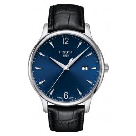 Tissot Herrentradition Uhr blau - T0636101604700