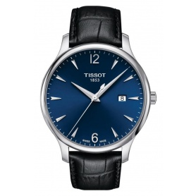 Tissot men's Tradition watch blue - T0636101604700