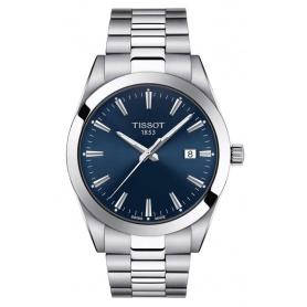 Orologio Tissot uomo Gentlemen blu - T1274101104100