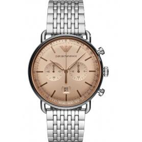 Vintage Aviator Emporio Armani chronograph watch AR11239