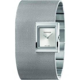 Orologio CK bracciale manetta Offsite acciaio - K9K23124