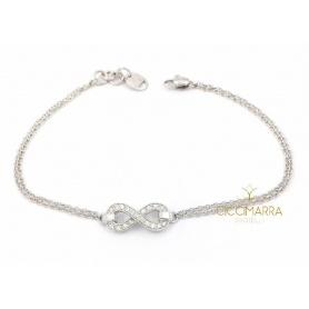 Salvini Infinito Armband aus Weißgold und Diamanten 20085546