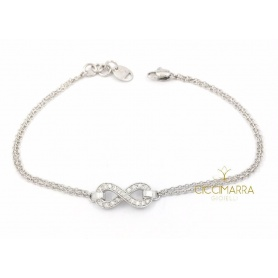 Salvini Infinito bracelet in white gold and diamonds 20085546