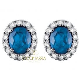Orecchini Salvini Dora con diamanti e zaffiri blu 20057650
