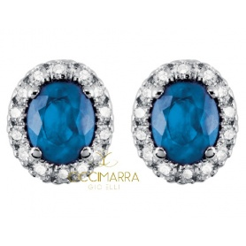 Salvini Dora earrings with diamonds and blue sapphires 20057650