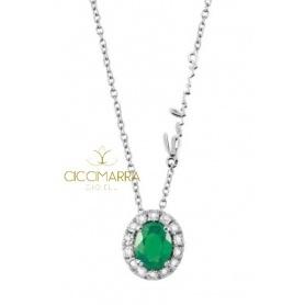 Salvini Dora Halskette mit Smaragd und Diamanten 20057647