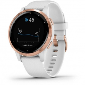 Garmin Vivoactive 4S Smartwatch watch white and gold
