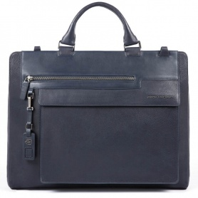 Piquadro briefcase unisex Wostok blue - CA4785W95 / BLU