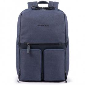 Piquadro men's backpack Tiros blue - CA4541W98 / BLU