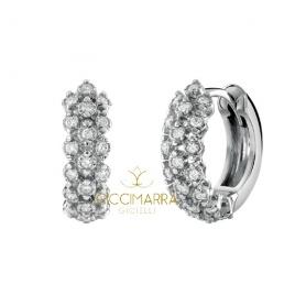 Orecchini Salvini Cachemire cerchi con diamanti- 20085378