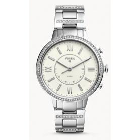 Virginia Fossil Smartwatch Damen Stahl - FTW5009