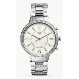 Virginia Fossil smartwatch woman steel - FTW5009