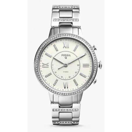 Virginia Fossil smartwatch woman steel - FTW5009