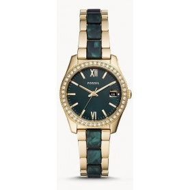 Scarlette Mini Fossil two-tone women's watch - ES4676
