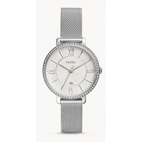Jacqueline Fossil watch woman steel - ES4627