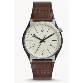 Barstow Fossil brown leather watch - FS5510