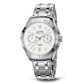 Eberhard Aquadate Chrono Silver watch - 31071CA