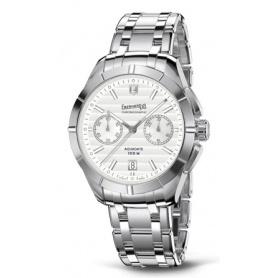 Eberhard Aquadate Chrono Silver watch - 31071CA