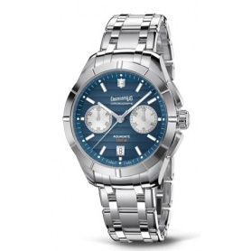Eberhard Aquadate Chrono Blue Watch - 31071CA