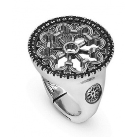 Rose ring S. Antonio Padova Ellius - 8000100018013