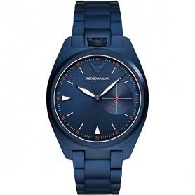 Emporio Armani Uhr nur Zeit blauen Quarz - AR11309